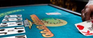 Caribbean Stud Poker Table